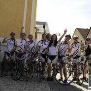 3-fach Sieg für die Damen der Sektion Laufen beim Techno Gym Radrennen